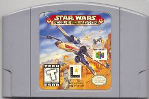 Star Wars - Rogue Squadron (USA) Cart Scan